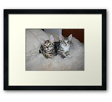 Marius and Millie Framed Print