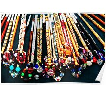 Bobbins With Bling Poster