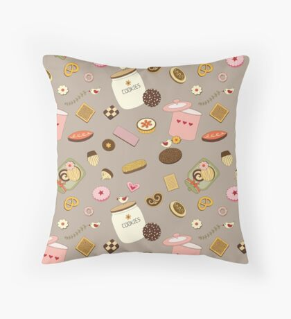 Cookie Party Throw Pillow