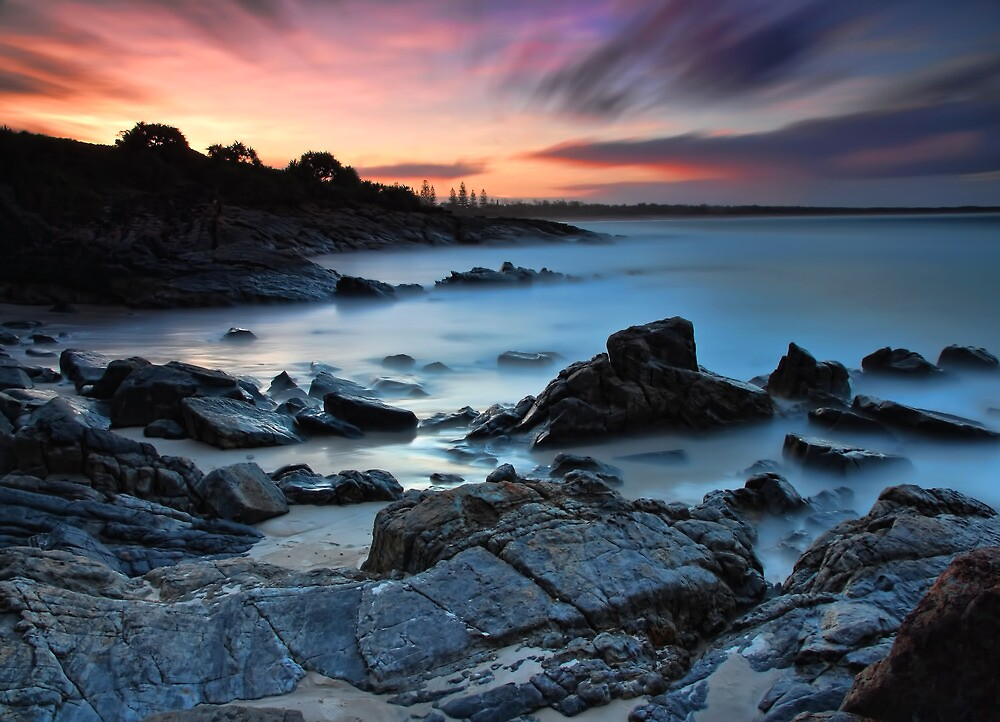 Cabarita Sunset by Maxwell Campbell