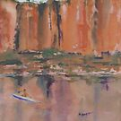 Katherine Gorge Northern Territory Australia by Margaret Morgan (Watkins)