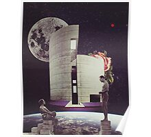 Home is were the heart is (space) Poster