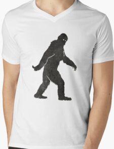 Grunge Sasquatch Bigfoot T Shirt Mens V-Neck T-Shirt