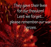 Lest We forget..... by sarnia2