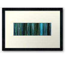 Moviebarcode: Noi the Albino (2003) Framed Print