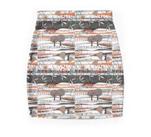 Through the autumn moors Mini Skirt