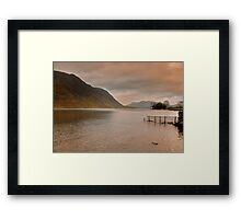 Morning at Buttermere Framed Print