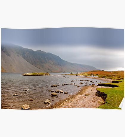 The Bleakness of Wast Water Poster