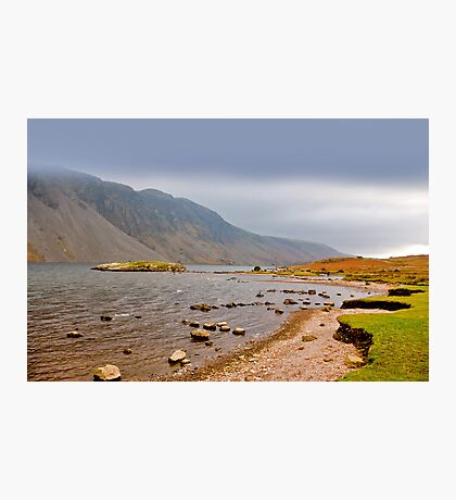 The Bleakness of Wast Water Photographic Print