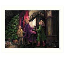 Christmas Sing Along Art Print