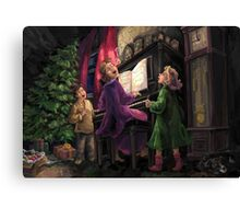 Christmas Sing Along Canvas Print