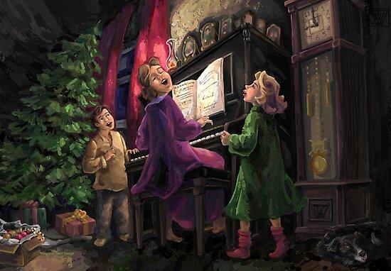 Christmas Sing Along by ImagineThatNYC