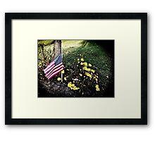 """""""Veterans Day 11-11-11"""" Framed Print"""