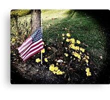 """Veterans Day 11-11-11"" Canvas Print"