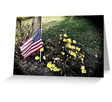 """Veterans Day 11-11-11"" Greeting Card"