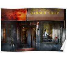 Barber - NY - Greenwich Village - West Village Barber Shop  Poster