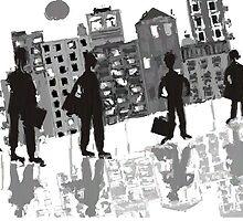 Downtown Commute by Gail Gabel, LLC