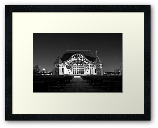 Lake Harriet Bandshell by Jeff Stubblefield