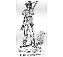 Achille Sirouy Mark Twain Les Aventures de Huck Huckleberry Finn illustration p121 Poster