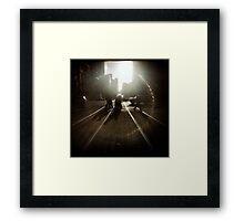 Morning Encirclement Framed Print