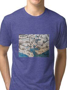 Whitstable Tri-blend T-Shirt