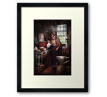 Blacksmith - The Smithy  Framed Print