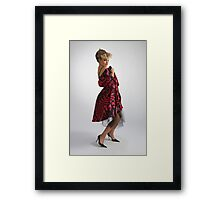 Attractive girl Framed Print