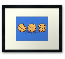 Cannibalism | Cute Cookie Framed Print