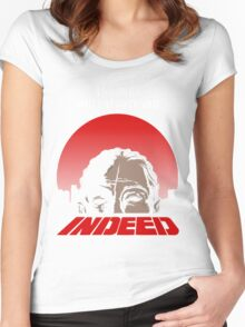 Indeed. Women's Fitted Scoop T-Shirt