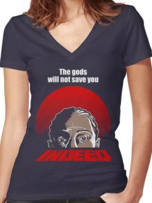 Indeed. Women's Fitted V-Neck T-Shirt