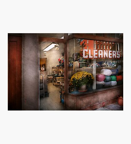 Cleaner - NY - Chelsea - The cleaners Photographic Print