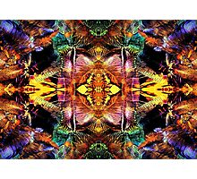 Abstract Colours Photographic Print
