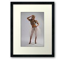 Attractive girl Framed Print