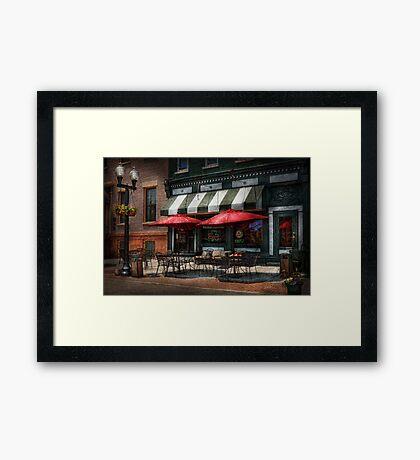 Cafe - Albany, NY - Mc Geary's Pub Framed Print