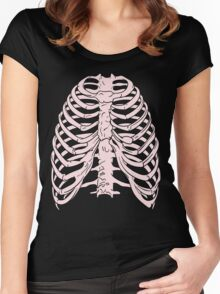 Ribs 3 Women's Fitted Scoop T-Shirt