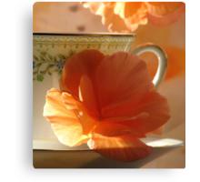 Let's Have Tea Canvas Print