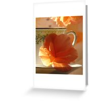 Let's Have Tea Greeting Card