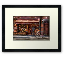 Store - Wine - NY - Chelsea - Wines and Spirits Est 1934  Framed Print