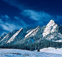 Majestic - The Flatirons of Boulder, Colorado by Greg Summers