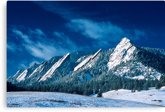 Majestic - The Flatirons of Boulder, Colorado by nikongreg