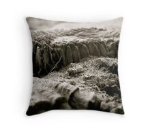 Peppered Piling Throw Pillow