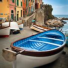 Riomaggiore Boat by Inge Johnsson