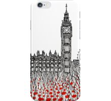 Remember ( London poppies) iPhone Case/Skin