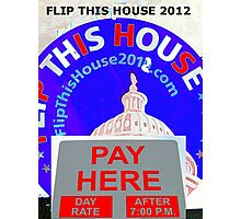 Pay Here!  Photographic Print
