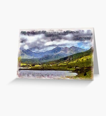 Snowdonia, Wales Greeting Card