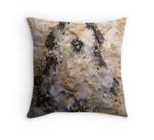 SNOW PENGUIN 12 - Snow Drift Throw Pillow
