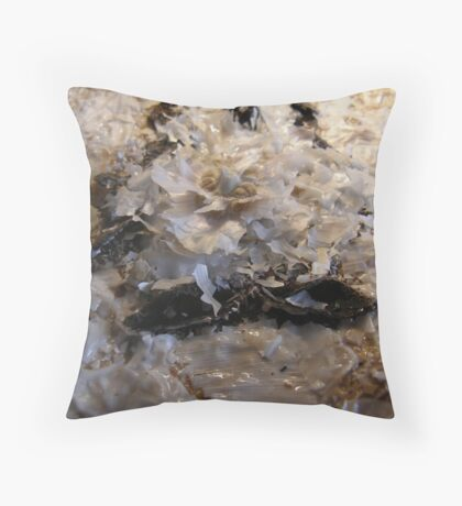 SNOW PENGUIN 14 - Ice Melt Throw Pillow