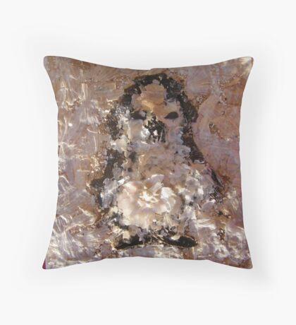 SNOW PENGUIN 18 - Partaay' Throw Pillow