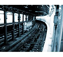 New York City Subway Tunnel #2 Photographic Print
