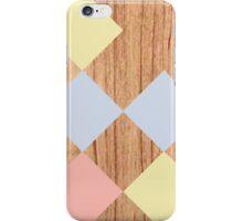the wood diamonds iPhone Case/Skin